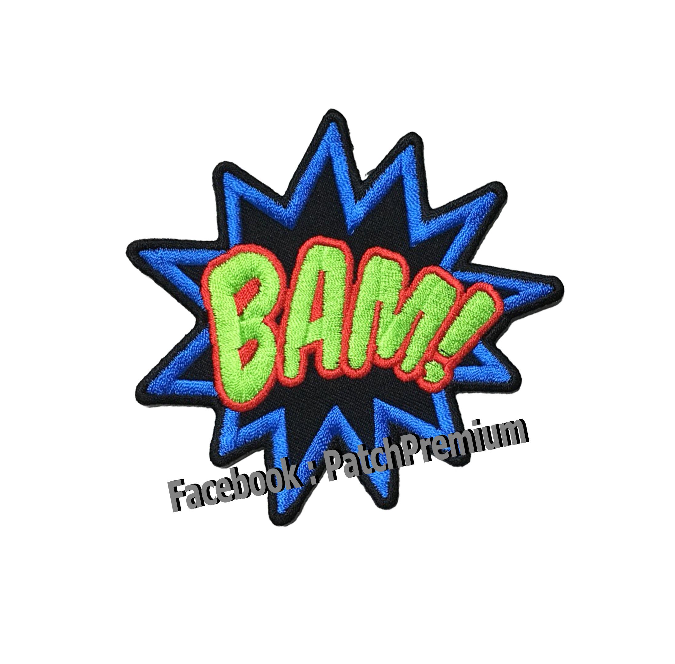 BAM! - ตัวรีด (Size M)
