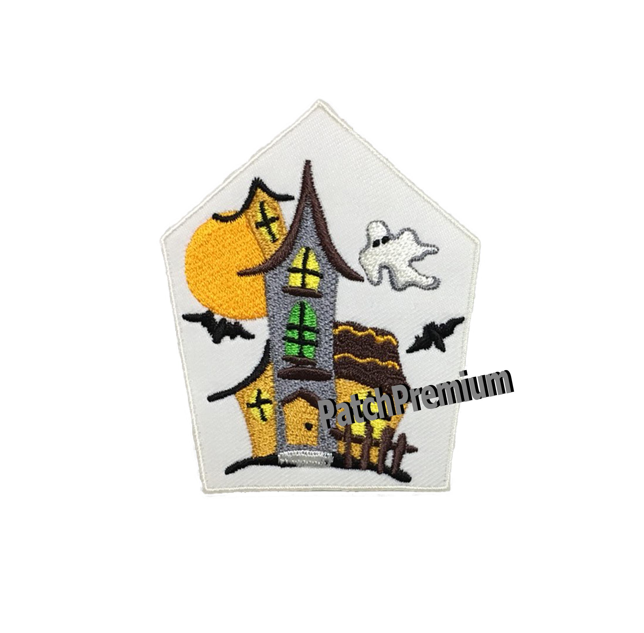 บ้านผีสิง - ตัวรีด (Size M)