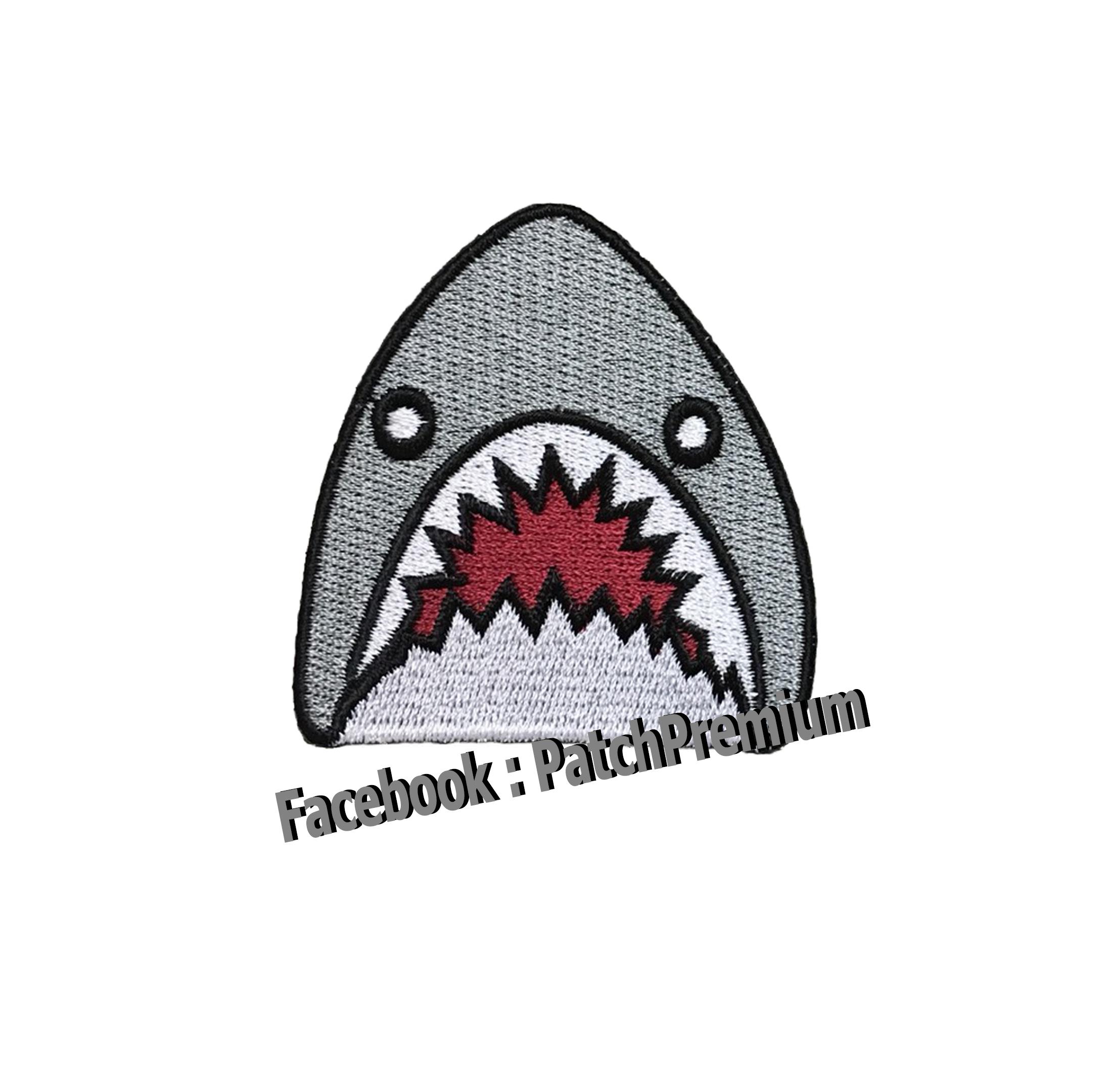 ฉลาม - ตัวรีด (Size M)