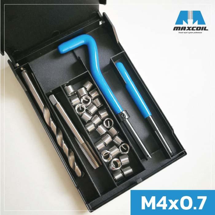 MCS-0407 ชุดซ่อมเกลียว M4x0.7