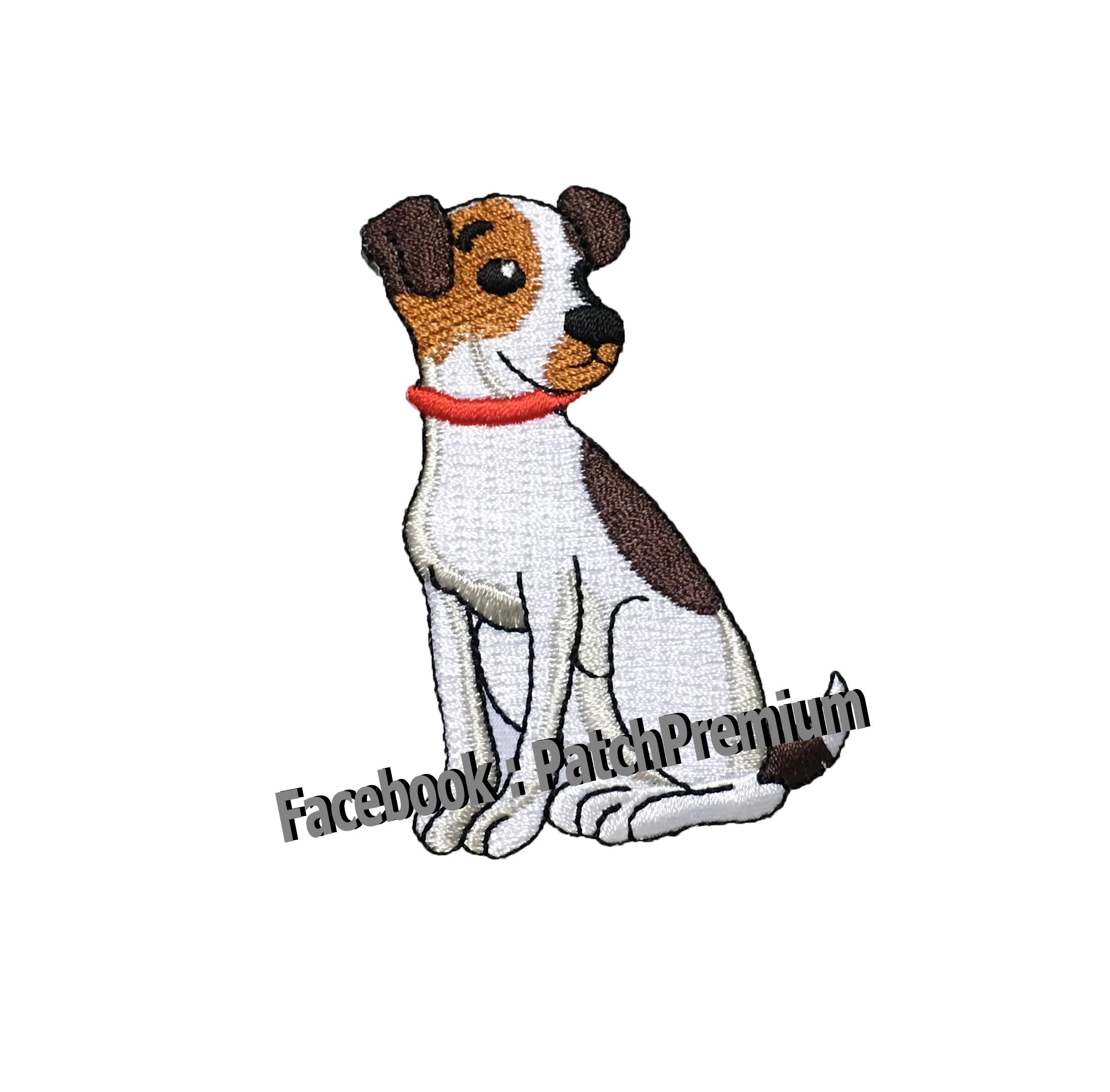 หมาแจ็ครัสเซล - ตัวรีด (Size M)