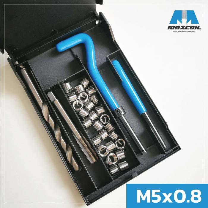 MCS-0508 ชุดซ่อมเกลียว M5x0.8