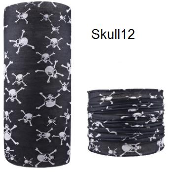 ผ้าบัฟกะโหลก Skull12
