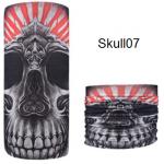 ผ้าบัฟกะโหลก Skull07