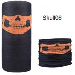 ผ้าบัฟกะโหลก Skull06