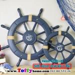 พวงมาลัยเรือ-พังงาเรือ ขนาด 62cm (รหัส Helm 62-Blue)