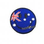 ไอคอนยิ้มออสเตรเลีย - ตัวรีด (Size M)