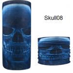 ผ้าบัฟกะโหลก Skull08