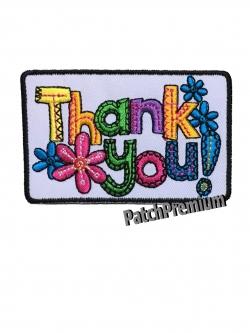 Thank you - ตัวรีด (Size M)
