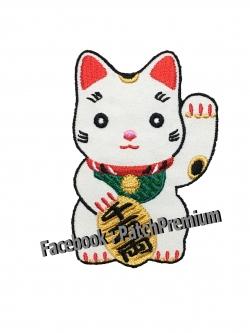 แมวกวัก - ตัวรีด (Size M)