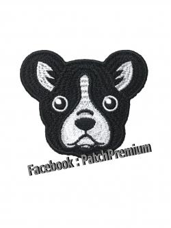 หมาเฟรนบลูด็อก - ตัวรีด (Size M)