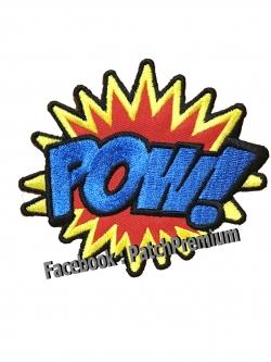 POW! - ตัวรีด (Size M)