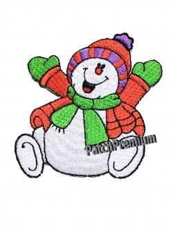 มนุษย์หิมะ - ตัวรีด (Size M)