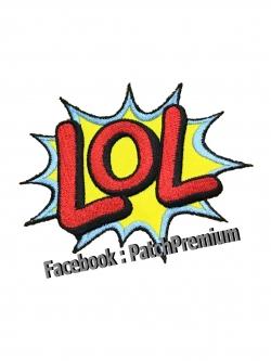 LOL! - ตัวรีด (Size M)