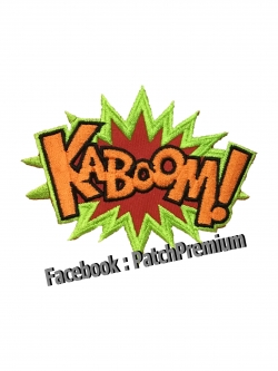 KABOOM! - ตัวรีด (Size M)