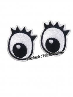 ดวงตา ไซส์เล็ก (ขายเป็นคู่ๆละ 35บ.) - ตัวรีด (Size S)