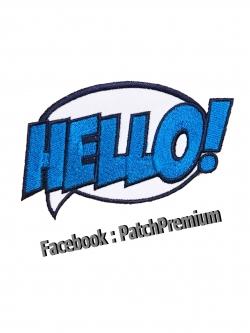 HELLO! - ตัวรีด (Size M)
