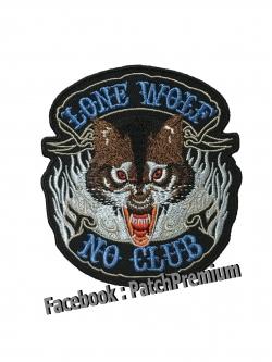 หมาป่า Lone Wolf - ตัวรีด (Size M)