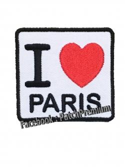 I Love PARIS - ตัวรีด (Size M)