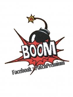 Boom ลูกระเบิด - ตัวรีด (Size M)