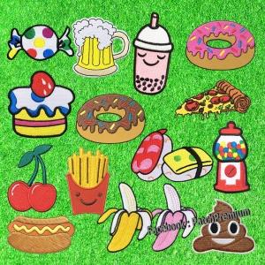 ขนมและของกิน - ตัวรีด (Size M)