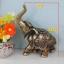 ช้างเรซิ่นมงคลของตกแต่งบ้านเสริมบารมี ขนาด 13*15.5 cm. thumbnail 3