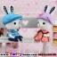 ตุ๊กตาเรซิ่นห้อยขากระต่ายน้อยหูยาวของแต่งบ้านน่ารักๆ ขนาด 5*15 cm. thumbnail 2