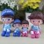 ตุ๊กตาเรซิ่นห้อยขาครอบครัว Sweet home ตุ๊กตาเรซิ่นครอบครัว ขนาด 4*5 cm. , 6*16 cm. thumbnail 11