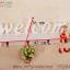 ชั้นฉลุติดผนัง Welcome แนววินเทจ ขนาด 9*16*47 cm. thumbnail 2