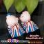 ตุ๊กตาเรซิ่นห้อยขาหมูน้อยสหรัฐน่ารัก ขนาด 4.5*5 cm. thumbnail 4