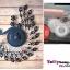 นาฬิกาแขวนผนังสุดหรูหราคริสตัลฟ้ากับนกยูงแสนสง่างาม ขนาด 24*64*78 cm. thumbnail 9