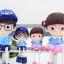 ตุ๊กตาเรซิ่นห้อยขาครอบครัว Sweet home ตุ๊กตาเรซิ่นครอบครัว ขนาด 4*5 cm. , 6*16 cm. thumbnail 4