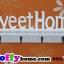 ชั้นวางติดผนัง Sweet home แนววินเทจ ขนาด 10*15*47 cm. thumbnail 4