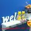 ชั้นฉลุติดผนัง Welcome แนววินเทจ ขนาด 9*16*47 cm. thumbnail 5