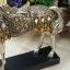 เรซิ่นม้าทองตกแต่งบ้านสุดหรูหรากับสัตว์มงคล ขนาด 8*28*29 cm. thumbnail 9