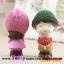 ตุ๊กตาเรซิ่นห้อยขาน่ารักตกแต่งหน้ารถ ขนาด 6*10 cm. thumbnail 4