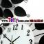 นาฬิกาติดผนังใบโพธิ์สุดเก๋ตกแต่งบ้านด้วยนาฬิกาสไตล์โมเดล ขนาด 21*60*60 cm. thumbnail 8