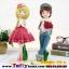 ตุ๊กตาน่ารักเรซิ่นหนุ่มสาววาเลนไทน์ ขนาด 8*10*28 cm. thumbnail 11