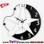 นาฬิกาติดผนังดวงดาว ขนาด 33*33 cm. thumbnail 1