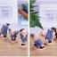 ตุ๊กตาเรซิ่นเณรน้อยกังฟูของตกแต่งหน้ารถยอดฮิต ขนาด 5*6*8 cm. thumbnail 7