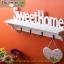 ชั้นวางติดผนัง Sweet home แนววินเทจ ขนาด 10*15*47 cm. thumbnail 2