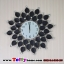 นาฬิกาติดผนังใบโพธิ์สุดเก๋ตกแต่งบ้านด้วยนาฬิกาสไตล์โมเดล ขนาด 21*60*60 cm. thumbnail 6