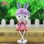 ตุ๊กตาเรซิ่นห้อยขากระต่ายน้อยหูยาวของแต่งบ้านน่ารักๆ ขนาด 5*15 cm. thumbnail 9