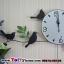 นาฬิกาติดผนังสไตล์เก๋ๆโมเดลๆกับเหล่านกน้อยน่ารัก ขนาด 24*55*70 cm. thumbnail 9