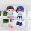 ตุ๊กตาเรซิ่นห้อยขาครอบครัว Sweet home ตุ๊กตาเรซิ่นครอบครัว ขนาด 4*5 cm. , 6*16 cm. thumbnail 8