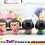 ตุ๊กตาเรซิ่นเด็ก Love ของตกแต่งบ้านและรถแบบน่ารักๆ ขนาด 6*7 cm. thumbnail 4