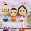 ตุ๊กตาเรซิ่นห้อยขาครอบครัวหรรษา thumbnail 7