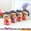ตุ๊กตาเรซิ่นเด็ก Love ของตกแต่งบ้านและรถแบบน่ารักๆ ขนาด 6*7 cm. thumbnail 2