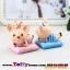 ตุ๊กตาครอบครัวหมูน้อยเรซิ่นน่ารัก ขนาด 4.5*6.5 cm. thumbnail 3