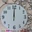 นาฬิกาติดผนังคริสตัสเงินนางฟ้าแห่งกาลเวลา ขนาด 25*50*65 cm. thumbnail 6